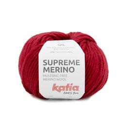 Katia Supreme Merino 89 - Rot