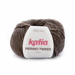 Katia Merino Tweed Braun (303)