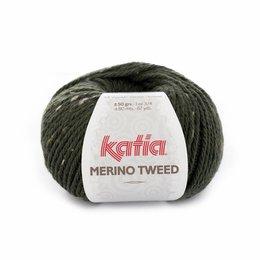 Katia Merino Tweed Dunkelgrün (310)