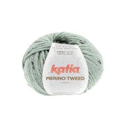 Katia Merino Tweed 313 - Resedagrün