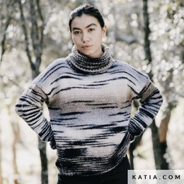 Katia Anleitung Pullover Damen Katia Twins