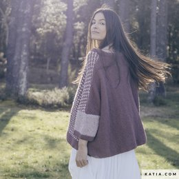 Katia Pullover Damen Merino Tweed