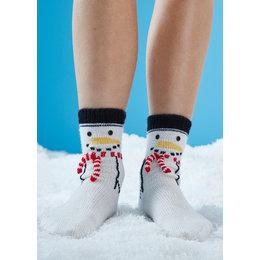 Schachenmayr Schneemann Socken