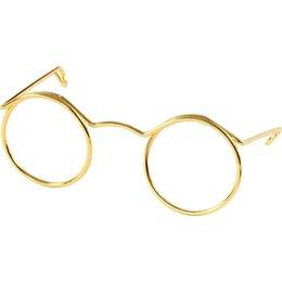 Brille für Stofftiere Gold