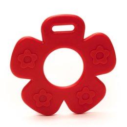 Durable Beißring Blume Rot (722)