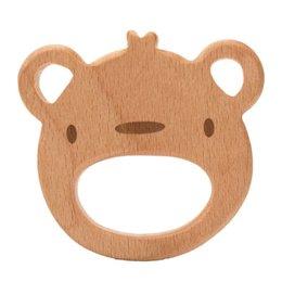 Durable Beißringe holz Bär