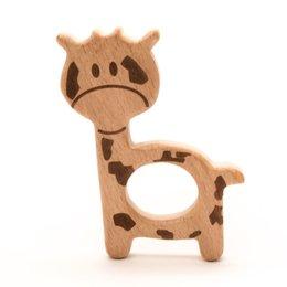 Durable Beißringe Holz  Giraffe