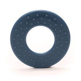 Durable Beißringe Rund mit noppen Blauw/Grau (235)
