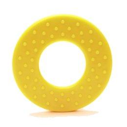 Durable Beißringe Rund mit noppen Gelb (645)