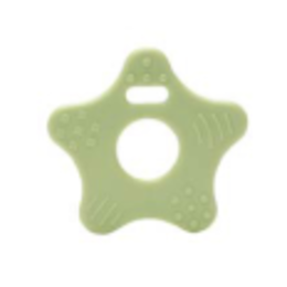 Durable Beißringe Sterne Hell Grün (369)