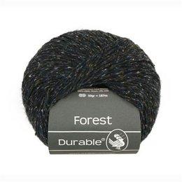 Durable Forest Dunkelblau/Braun Meliert (4006)