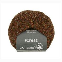 Durable Forest 4011 - Braun/Rot Meliert