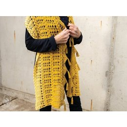 Durable Häkelanleitung Lemon Bon Bon Shawl