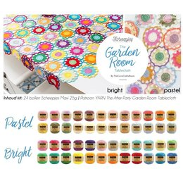 Scheepjes Häkelset: Gardenroom Tablecloth
