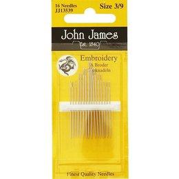 John James Sticknadeln mit scharfer Spitze