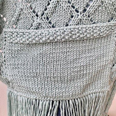 Caro's Atelier Strickset: Panama Pocket Shawl