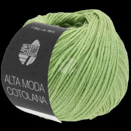 Lana Grossa Alta Moda Cotolana Apfelgrün (10)
