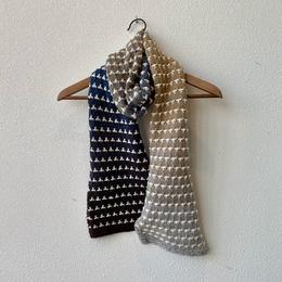 Caro's Atelier Strickset: Dublin Tropfen Schal