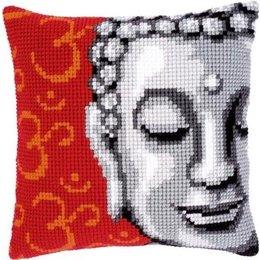 Vervaco Kreuzstichkissen Buddha