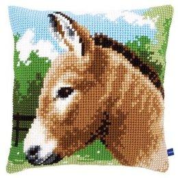 Vervaco Kreuzstichkissen Esel