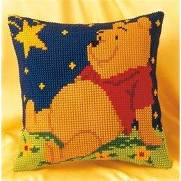 Vervaco Kreuzstichkissen Winnie the Pooh