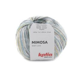 Katia Mimosa 302 - Blau-Hellgelb
