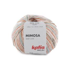 Katia Mimosa 300 - Orange-Korallen-Wasserblau