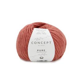 Katia Pure 73 - Rot