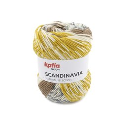 Katia Scandinavia 303 - Senfgelb-Rehbraun-Grau