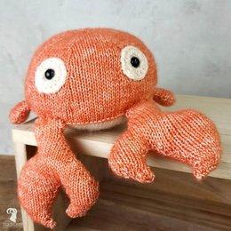 Hardicraft Strickset: Karel die Krabbe