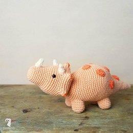 Hardicraft Häkelset: Dino Triceratops