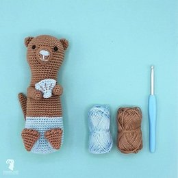 Hardicraft Häkelset: Otis Otter