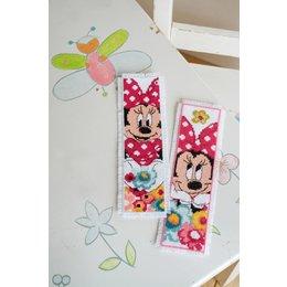 Vervaco Kreuzstichpackung Lesezeichen Disney Minnie - 2er Set
