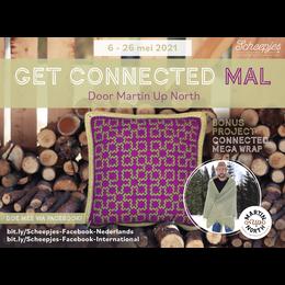 Scheepjes Get Connected MAL - großes Quadrat – Kissen