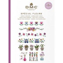DMC Buch Ideen für die Stickerei - Blumen