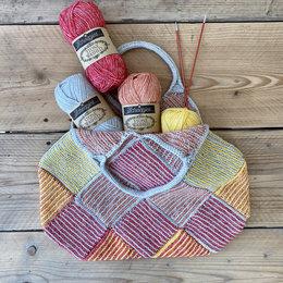 Caro's Atelier Strickset Rose Bag