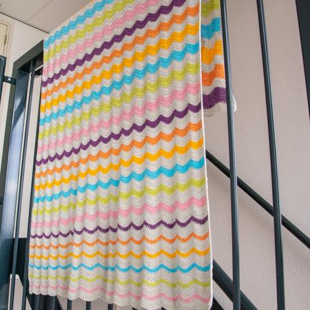 Caro's Atelier Häkelset Ubuntu Ripple Decke