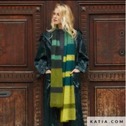 Katia Strickset:  Schal von 50 Mohair Shades
