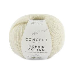 Katia Mohair Cotton 70 - Naturweiß