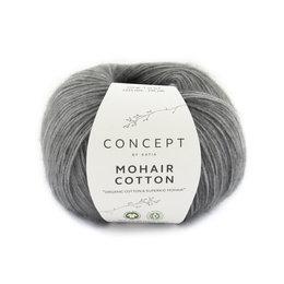 Katia Mohair Cotton 71 - Grau