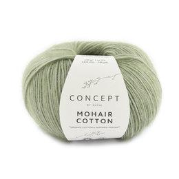 Katia Mohair Cotton 72 - Minzgrün