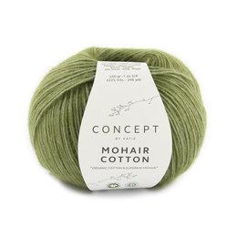 Katia Mohair Cotton 78 - Resedagrün