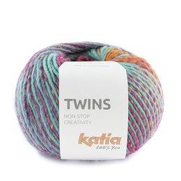 Katia Twins 161 - Orange/Lila/Türkis