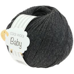 Lana Grossa Cool Wool Baby 205 - Anthrazit