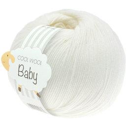 Lana Grossa Cool Wool Baby 207 - Weiss