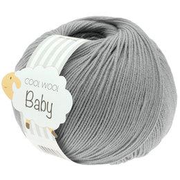 Lana Grossa Cool Wool Baby 241 - Hellgrau
