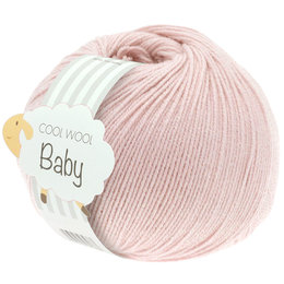 Lana Grossa Cool Wool Baby 267 - Zartrosa