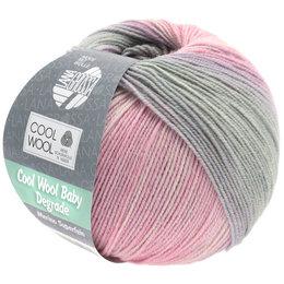 Lana Grossa Cool Wool Baby Degrade 508 - Zartrosa/Nelke/Hellgrau/Flieder