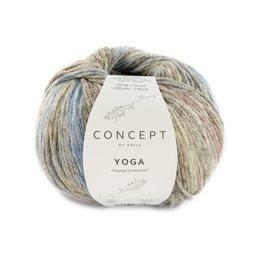 Katia Yoga 208 - Blau/Braun