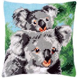 Vervaco Kreuzstichkissen Koala mit Baby